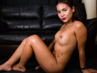 Sexy Miki is a gorgeous tgirl with an amazing body, a nice round bubble butt, big boobs and a delicious cock! See this sexy transgirl stroking her cock for you!