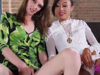Mandy and Venus teach you how to satisfy a throbbing cock with your hand and your mouth