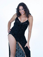 Tranny Susi Gleice strips out of her slinky black dress