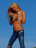 Kimber James a day at the beach
