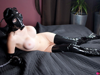 Kinky shemale in domination action