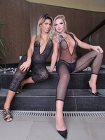 Carla Novaes & Milena - Watch these sexy two go at it