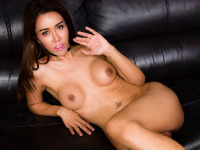 Angel is a stunning ladyboy with an amazing face, sexy slim body with big tits, a nice firm ass and a big thick cock! Enjoy this hot tgirl stroking her hard cock for you!