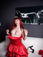 Bailey Jay Smoking hot TS prom queen Bailey Jay teasing