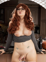 Bailey Jay is a Little Red Headed Slut that will Suck Your Fucking Cock Dry