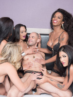 TS All Stars : TS Gangbang 01