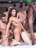 TS All Stars : TS Gangbang 04
