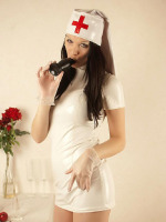 Hannah Sweden - Naughty Shemale Nurse With Healthy Anal Cravings