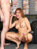 Johanna B. in Tranny Glory Hole Surprise #02
