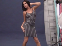 Watch as Jonelle Seduces Her Audience in the Behind the Scenes of Gray Dress