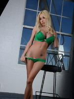 Kimber James Seductive Kimber stripping and posing