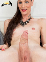 Long Hair Big Dick Brooke Zanell - Brooke Zanell is a sexy tgirl with a hot body, legs that go on forever, samll natural tits and a big hard cock! Watch this sexy transgirl jacking har huge hard cock!