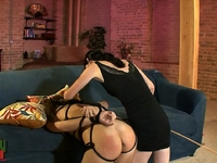 Mandy Mitchell Horny Mandy Mitchell whipping tied up tgirl Ashley George