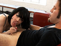 Sarina Valentina Adorable TS Sarina getting her tight asshole drilled by Wolf