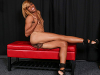 Florida bombshell Bonnie returns for her sixth solo scene and she's ready to have some fun! Bonnie has an amazing body and beautiful long legs. Not to mention that hot booty! Watch her stroking her cock until she shoots a nice creamy load for you in another hot solo scene brought to you by Jack Flash!