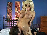 Kimber James Super hot Kimber James getting sucked and fucked