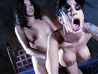 Amazing TS Vaniity having hardcore fun with Angelina