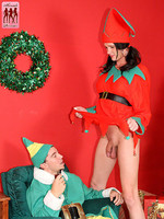 Elf Morgan Bailey learns just how good of a girl shes been this year!