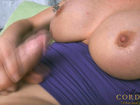 Shemale Mariana Cordoba strokes her magnificent shepenis until she cums