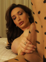Mariana Cordoba - This tranny has an Enormous Shemale hidden in her sexy pantyhose