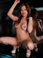 Carmen Moore Hot Carmen jerks her hard dick