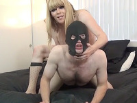 Jesse's Huge Cock Penetrates the Masked Mario on Her Latest Fan Foxx Episode