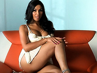 Vaniity Smoking hot transsexual Vaniity masturbating