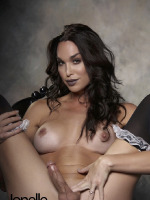 Jonelle Likes to Play with Her Hung Dick on Her Favorite Black Chair