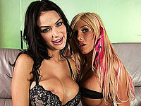 Irresistible Kimber James with Angelina Valentine