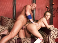 Christian XXX and Celeste Fuentes. Best Of Transsexual Cheerleaders.