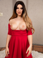 Bailey in a Hot Red Dress Wants Your Cock so Bad Right Now