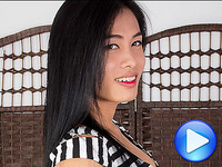 Nina Nina is an authentic student, she's the typical young ladyboy next door. She's got a cute Issan face, long black hair, nice boobs. Her cock is big, it's rock hard but she's got a smooth and soft foreskin that feels awesome to the touch and in the mouth.